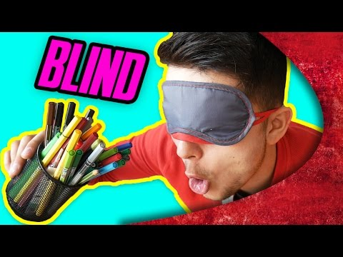 BLIND GRAFFITI CHALLENGE