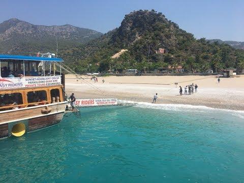 Oludeniz Beach & Boat Trip, Butterfly Valley, Blue Lagoon, Babadag, GoPro HD