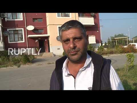Azerbaijan: Terter residents assess damage caused by shelling as they return to their homes