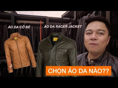 Áo Da Cổ Bẻ Hay áo Da Cổ Tròn - Collar Leather Jacket Vs Racer Jacket