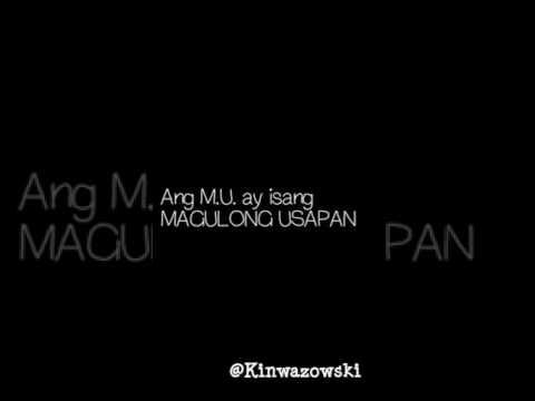 M.U. Magulong Usapan. -  By: Kinwazowski