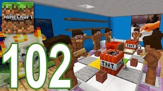 Minecraft: PE - Gameplay Walkthrough Part 102 - Find The Button: Months Edition (iOS, Android)