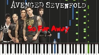 Avenged Sevenfold - So Far Away [Piano Cover Tutorial] (♫)