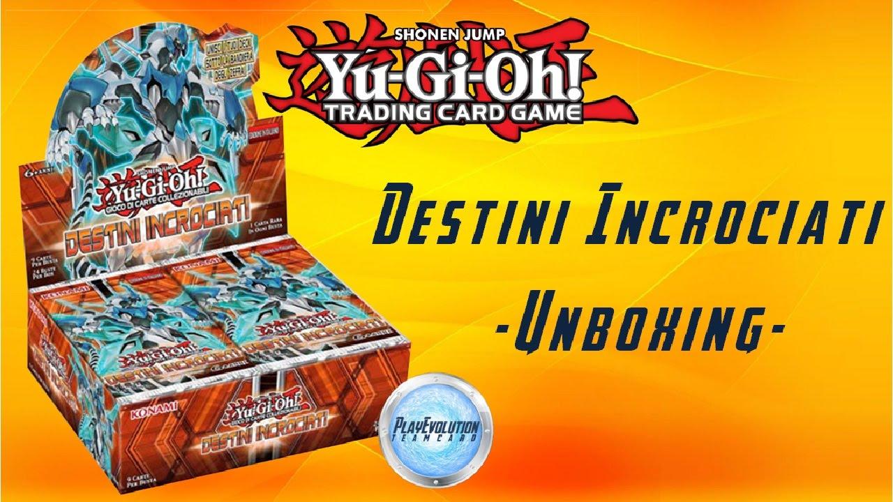 Destini Incrociati Box Buste Yu-Gi-Oh