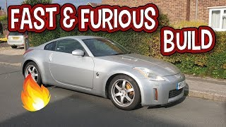 350z Plans - Fast And Furious Build