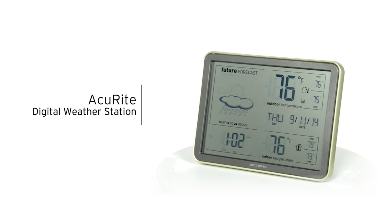 AcuRite 75077 75107 Digital Weather Station with Forecast