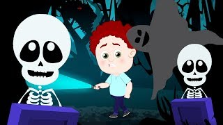 Halloween Song | Schoolies Cartoon Videos | Halloween Music for Kids