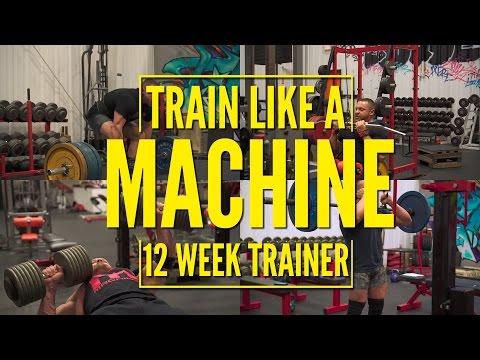 Train Like A Machine 12 Week Trainer FREE! | Tiger Fitness