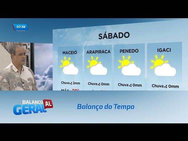 Balanço do Tempo: Tempo e Temperatura em Alagoas
