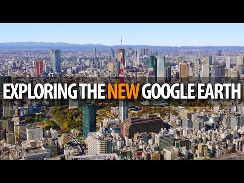 Exploring Google Earth Live!