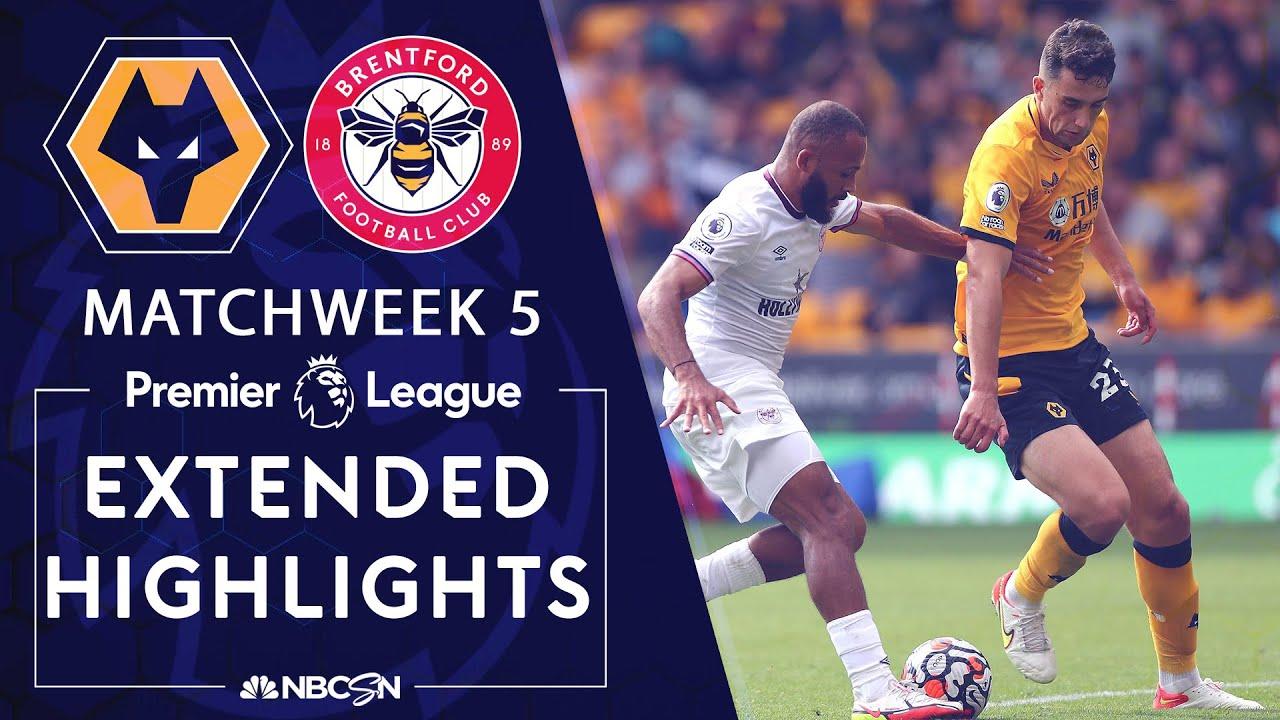 Download Wolves v. Brentford   PREMIER LEAGUE HIGHLIGHTS   9/18/2021   NBC Sports