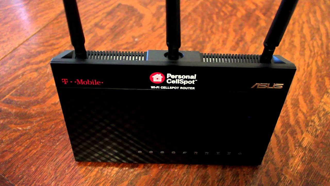Tech Talk T Mobile Personal Cellspot Router