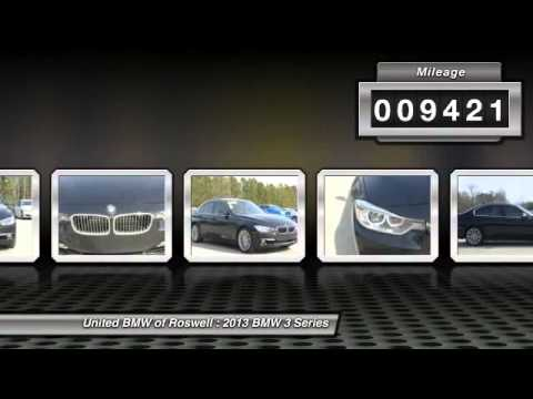 United Bmw Roswell >> 2013 BMW 3 Series Roswell GA RF15083A - YouTube