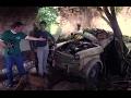 Fiat 1100 industriale, Immagini drammatiche di selvaggio degrado e abbandono.