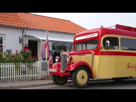 Dirch Passer bus kører rundt på Samsø