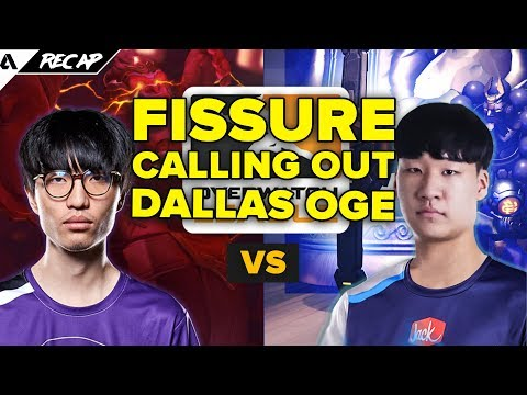 Fissure Calls Out Dallas Fuel OGE For Boosting History - Dreamkapzer Jersey Returns | Akshon Recap
