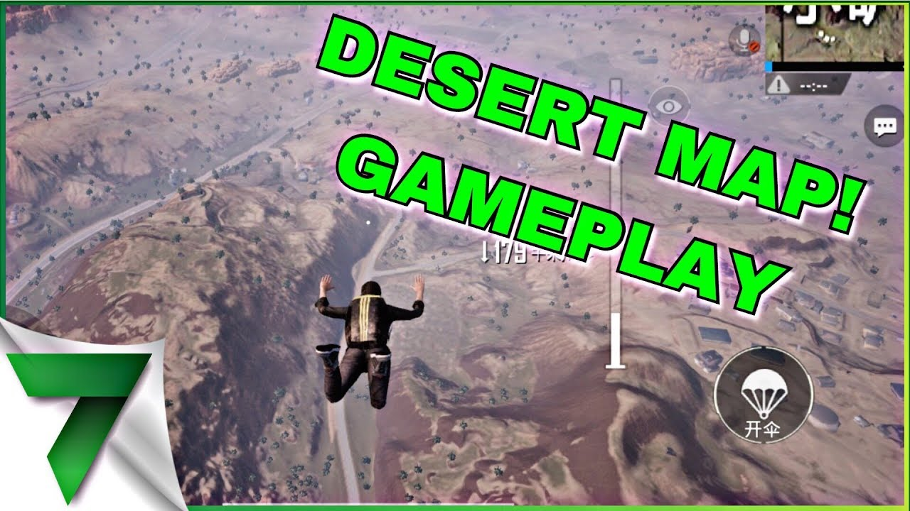 Pubg Mobile Hd Vs Smooth: DESERT MAP GAMEPLAY! SMOOTH!!!