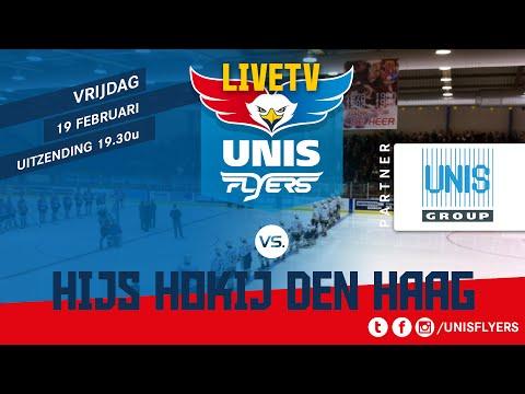 IJshockey Unis Flyers - Hijs Hokij Den Haag 19 Februari 2016