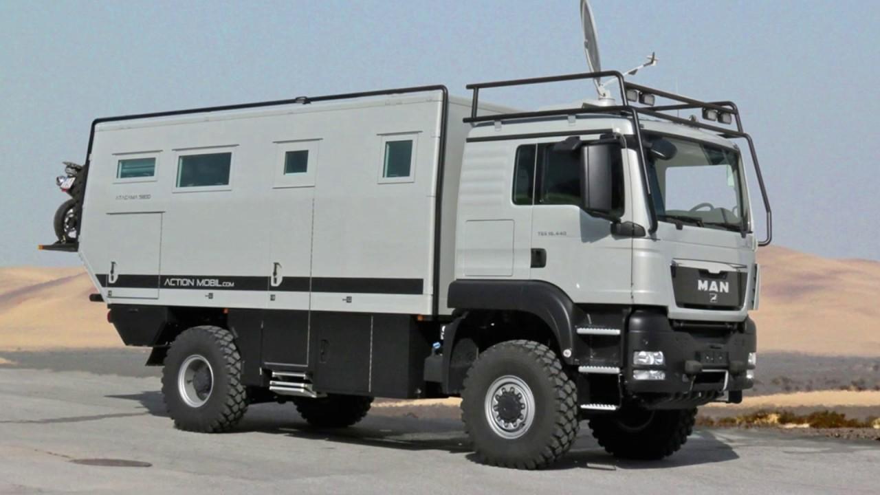 Action Mobil Atacama 5800 Eur700k Rv For Tough Expeditions