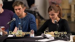 Dan Stevens, Emma Watson and Beauty and the Beast cast : table read