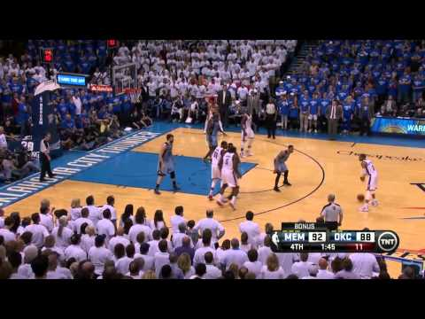 Memphis Grizzlies vs Oklahoma City Thunder Game 2 | April 21, 2014 | NBA Playoffs 2014