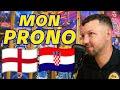 EURO 2021 : MON PRONO ANGLETERRE CROATIE !