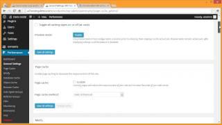 Optimizing WordPress with W3 Total Cache and GTMetrix
