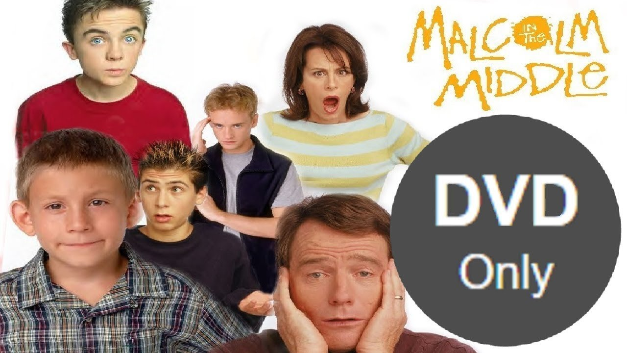 malcolm in the middle is now available on dvd only on netflix youtube