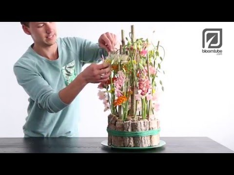 Flower Arrangement With Flowers From The Field Tutorial Youtube