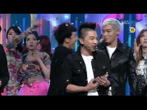 BIGBANG_0306_SBS Inkigayo_TONIGHT_1st Award