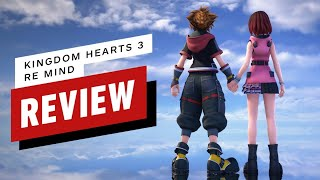 Kingdom Hearts 3 Re Mind DLC Review (Video Game Video Review)