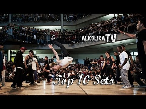 BBOY LIL AMOK - Top 10 Sets