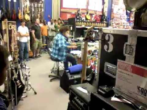 West Des Moines Iowa Guitar Center Drum Off