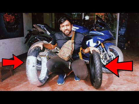 The BEST tires for the road conditions of Bangladesh | Changed my tires || The Outsider