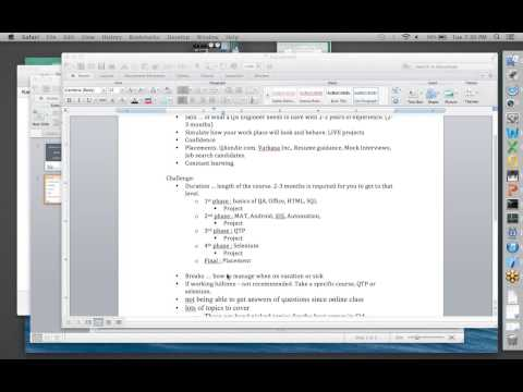 Master of Software Testing 2 - Day 2 video