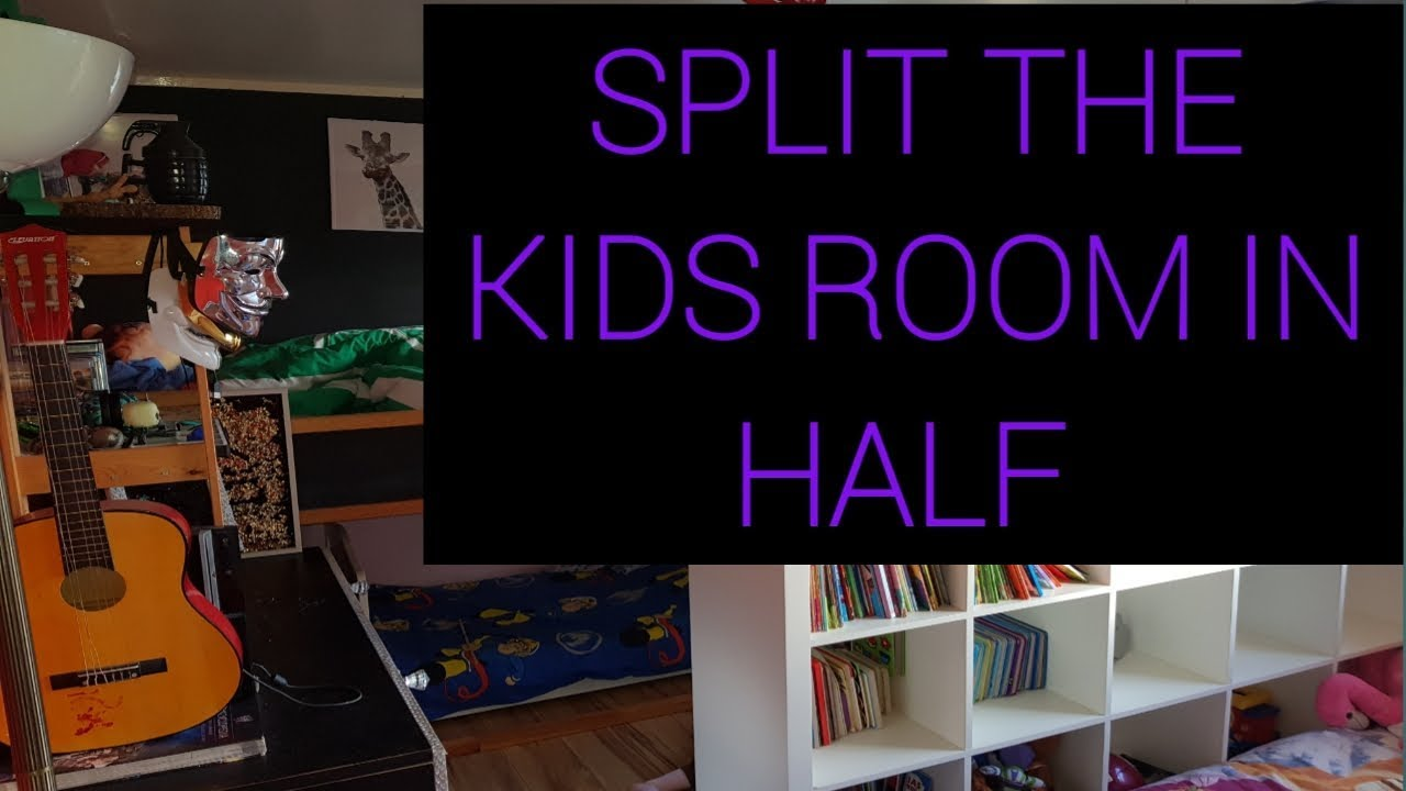 Three Kids Room Split Into Two Rooms Youtube