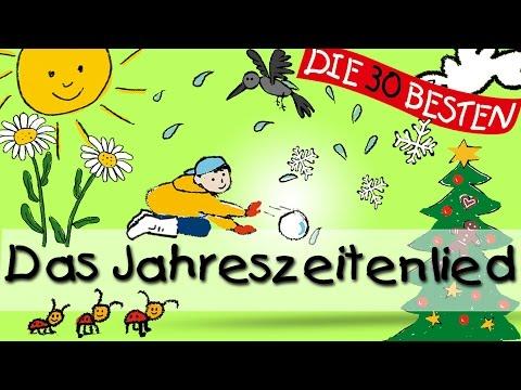 Das Jahreszeitenlied - Wissenslieder für Kleinkinder    Kinderlieder
