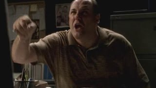 The Sopranos - TONY raging Part 8