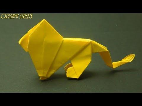 Origami Singa Kertas