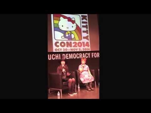 Yuko Yamaguchi and Marie at Hello Kitty Con 2014  11