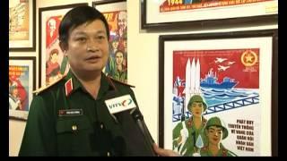 VITV - Tranh cổ động đề tài lực lượng vũ trang