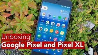 Google Pixel and Pixel XL Unboxing