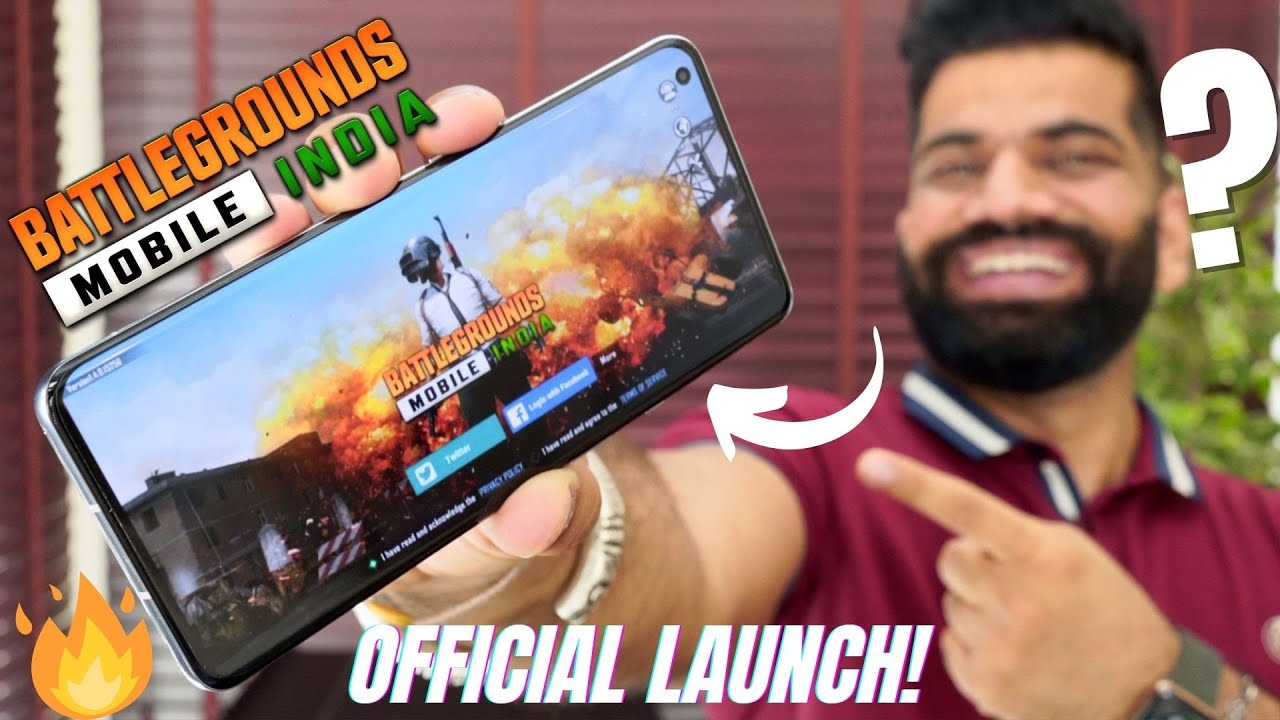BGMI Officially Launched - Battlegrounds Mobile India Full Version with Details???