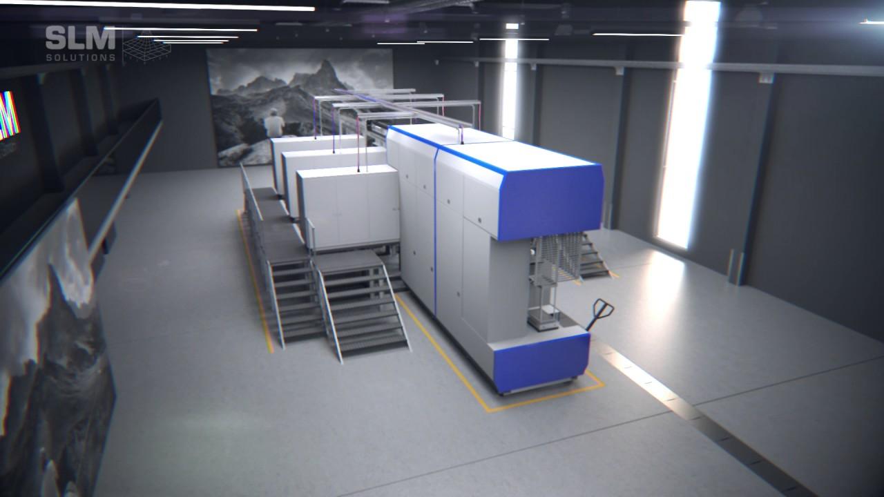 video SLM Solutions SLM 500 HL 3D Printer