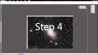 Astrophotography processing tutorial explaining a method developed ...