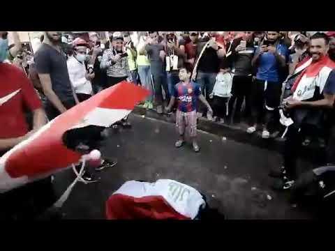 مظاهرات ميسان  رقص ببوجي واحلى اطفال