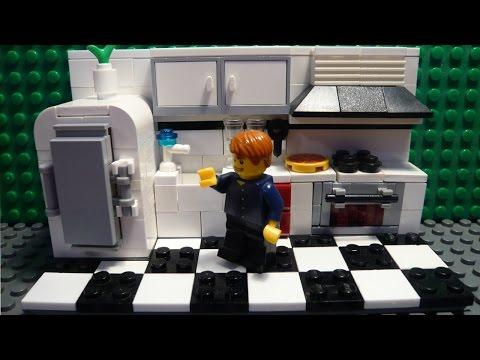 видео: lego САМОДЕЛКА #17 | Кухня / kitchen