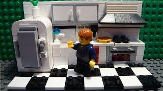LEGO САМОДЕЛКА #17 | Кухня / Kitchen(Всем привет! Перед вами серия самоделок, в которых показано, как построить ту или иную комнату для вашего..., 2015-07-07T07:03:17.000Z)