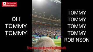 Super League Grand Final 2018 - TONIGHT - Chanting Oh Tommy Tommy