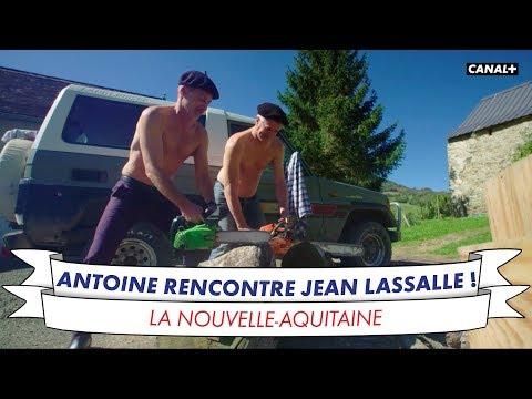 Antoine De Caunes passe 24 heures avec Jean Lassalle !